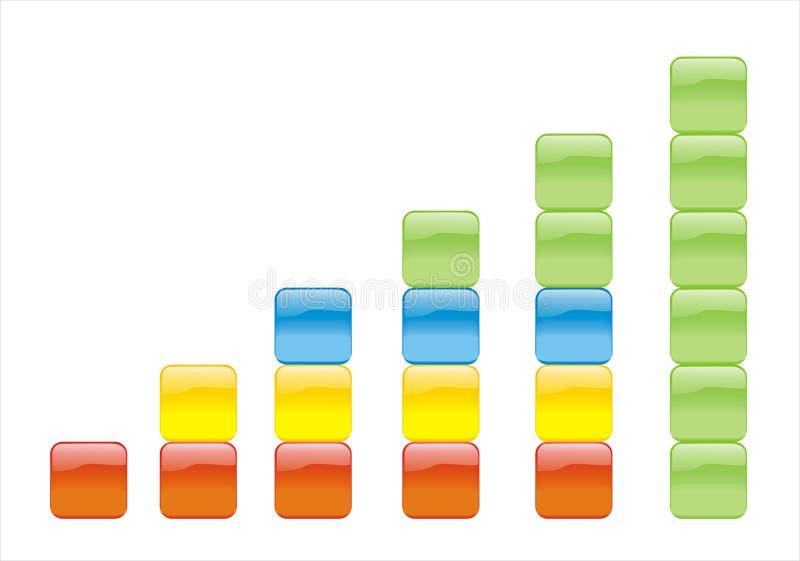 Grafico di colore immagini stock libere da diritti