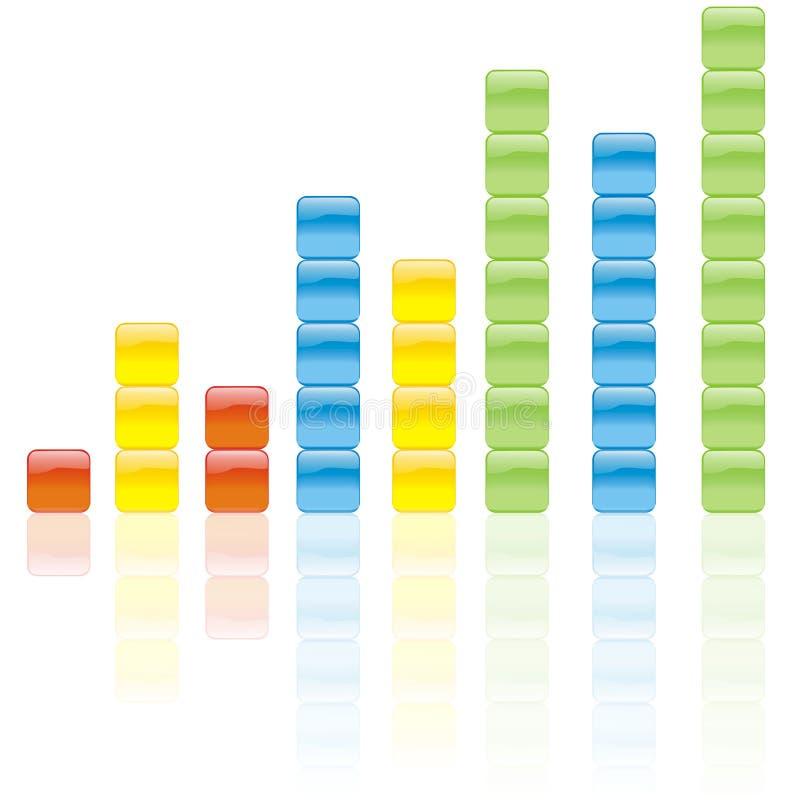 Grafico di colore immagine stock