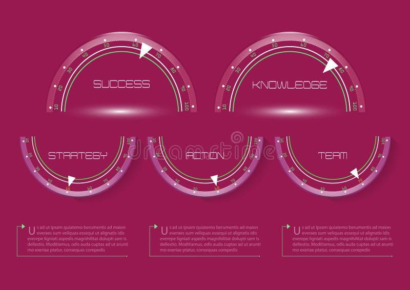 Grafico di informazioni immagini stock libere da diritti