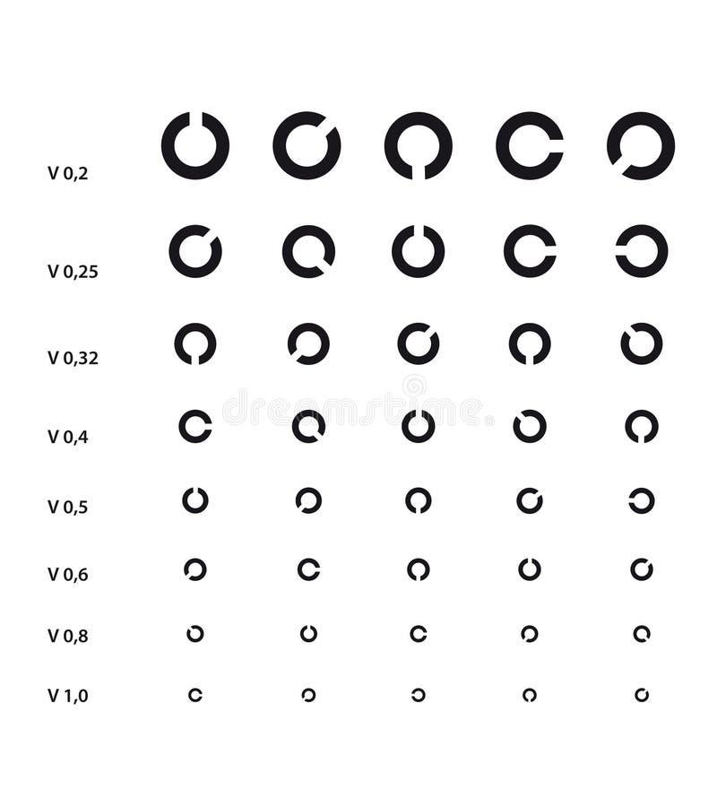 Grafico di occhio medico royalty illustrazione gratis