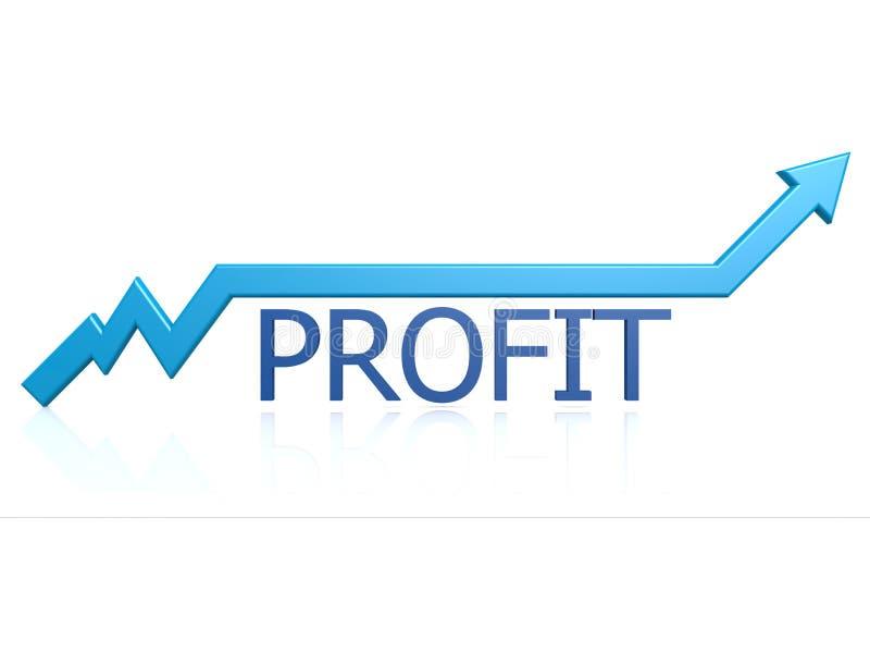 Grafico Di Profitto Fotografia Stock