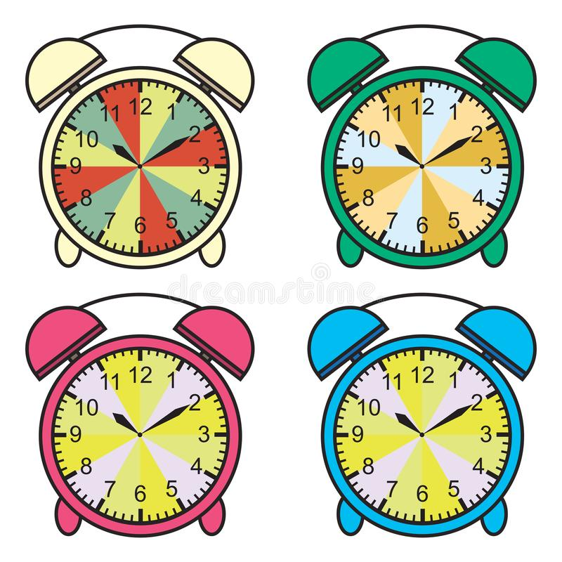 Grafico di tempo di insegnamento che dice il momento per il grafico dell'insegnante per il fronte di orologio marcatempo d'istruz royalty illustrazione gratis