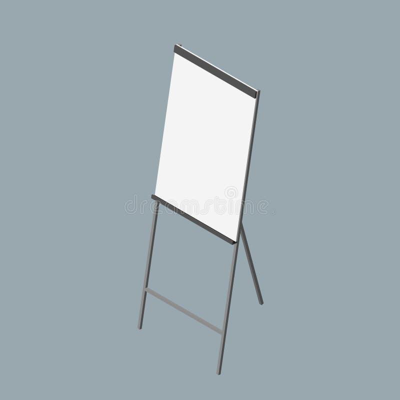 Grafico di vibrazione vuoto illustrazione di vettore 3d illustrazione di stock