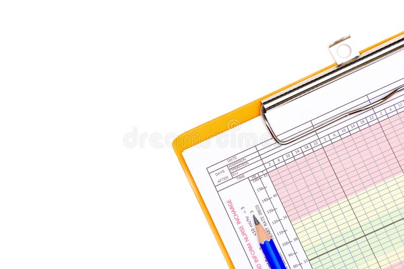 grafico paziente della funzione vitale immagine stock
