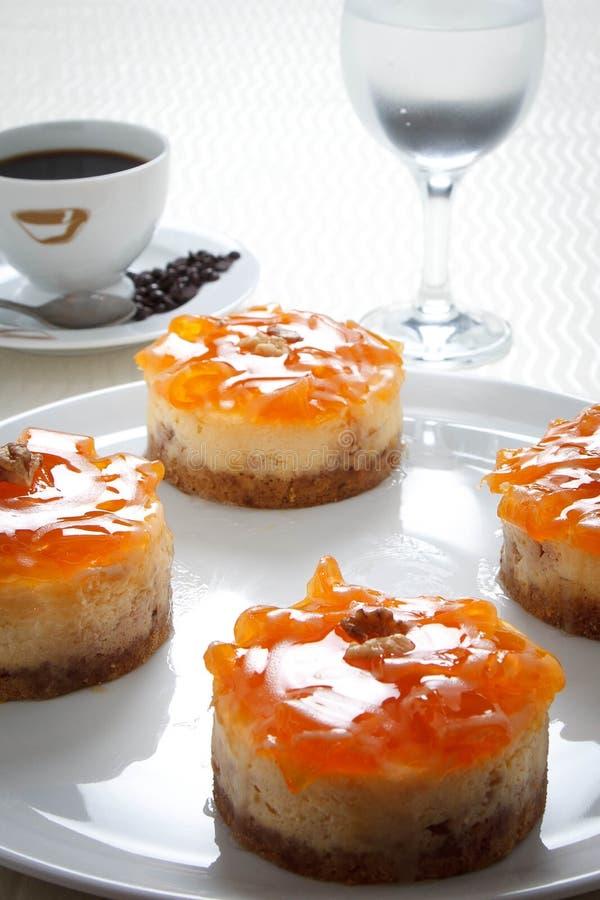 Grafico a torta arancione fotografia stock libera da diritti