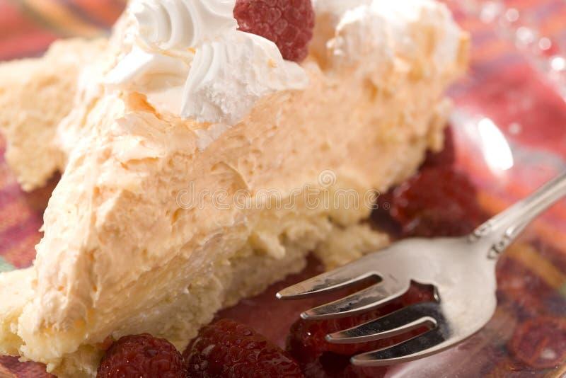Grafico a torta arancione di Creamsicle fotografie stock libere da diritti