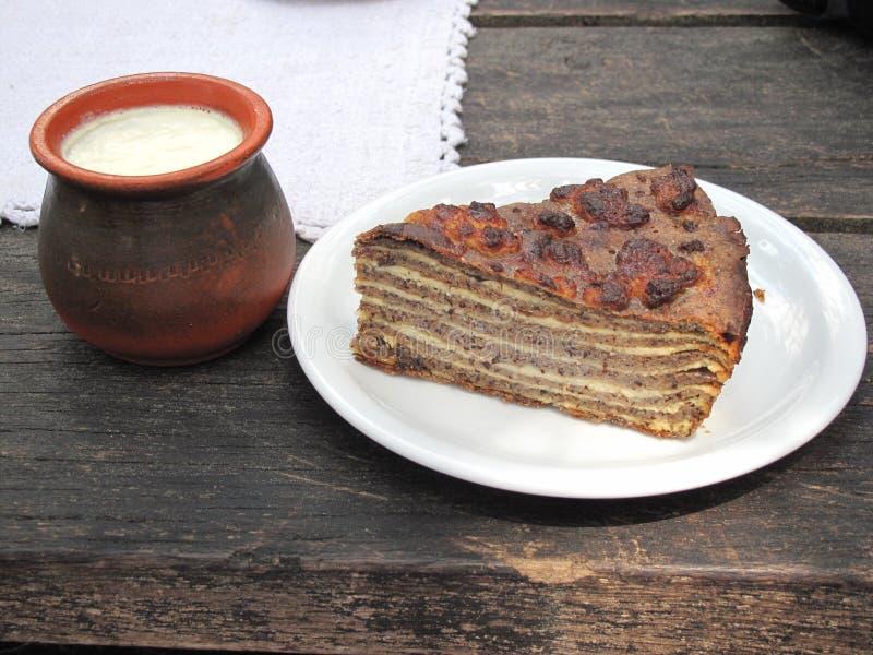 Grafico a torta del grano saraceno immagini stock libere da diritti