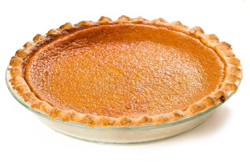 Grafico a torta della patata dolce fotografia stock libera da diritti
