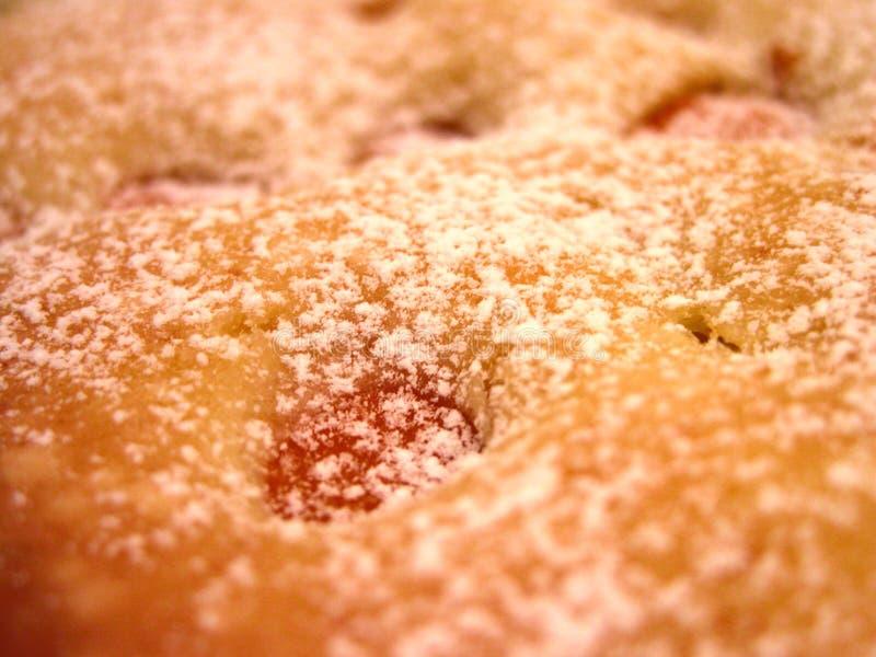 Grafico a torta delle albicocche fotografia stock