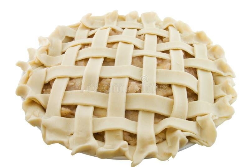 Grafico a torta di Apple della grata fotografia stock