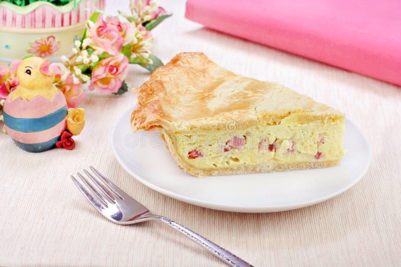 Grafico a torta italiano di Pasqua immagine stock