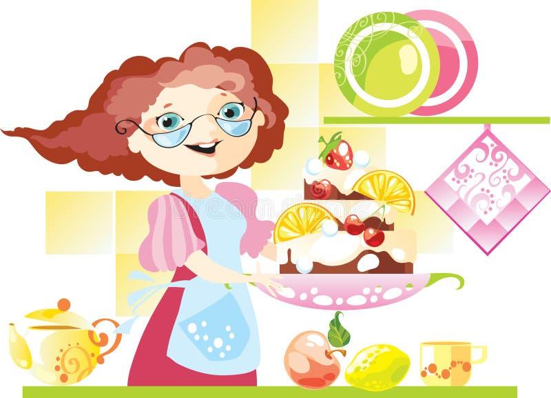 Grafico a torta a tè royalty illustrazione gratis