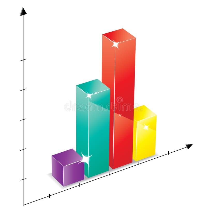 Grafico variopinto vetroso royalty illustrazione gratis