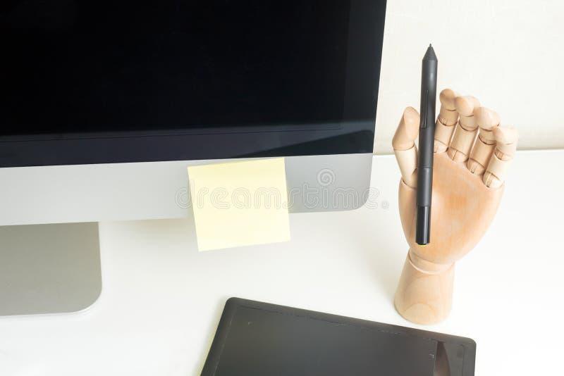 Grafico Workplace Concept fotografia stock libera da diritti