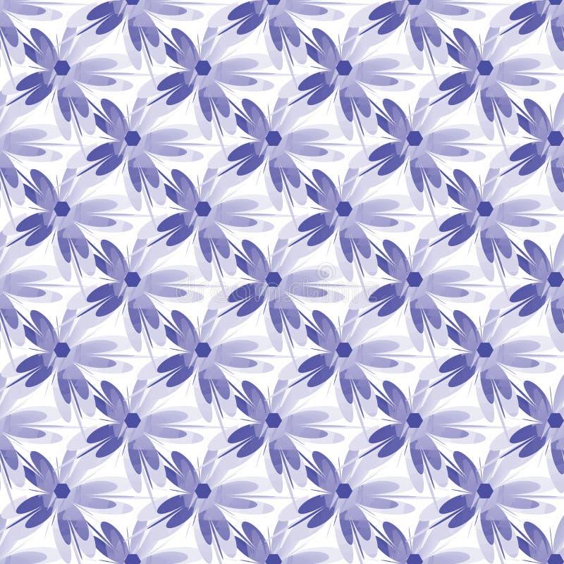 Graficzna kwiatu wzoru ilustracja Geometryczny kwiecisty orientalny bezszwowy wzór zdjęcia royalty free