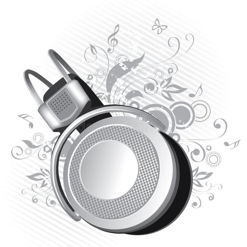 graficzne hełmofon ilustracji