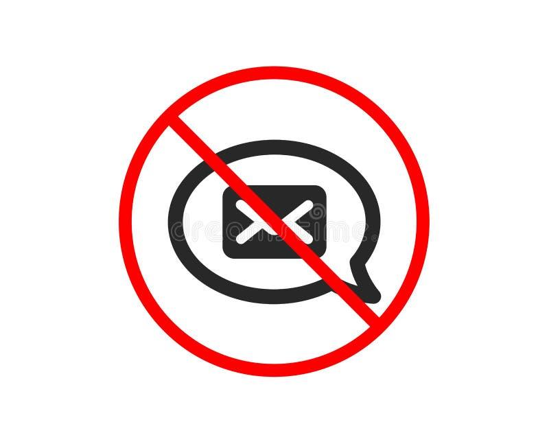 graficznej ikony ilustracyjna poczta Goniec komunikaci znak wektor royalty ilustracja
