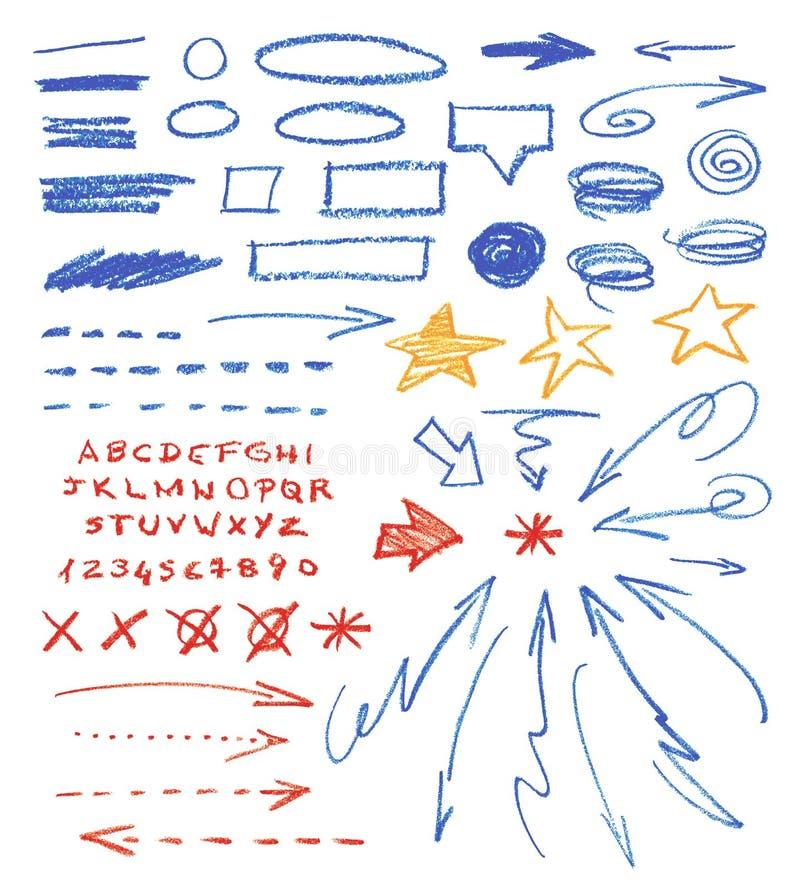 Graficzni znaki royalty ilustracja