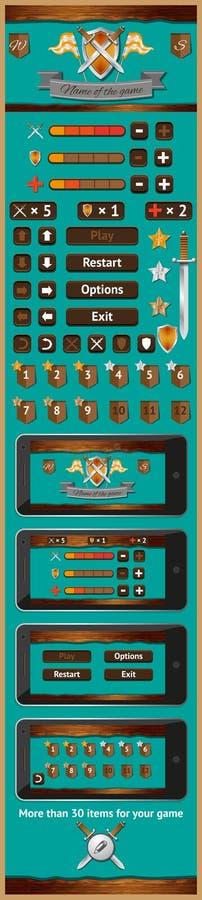 Graficzny interfejs użytkownika dla gier 4 ilustracji