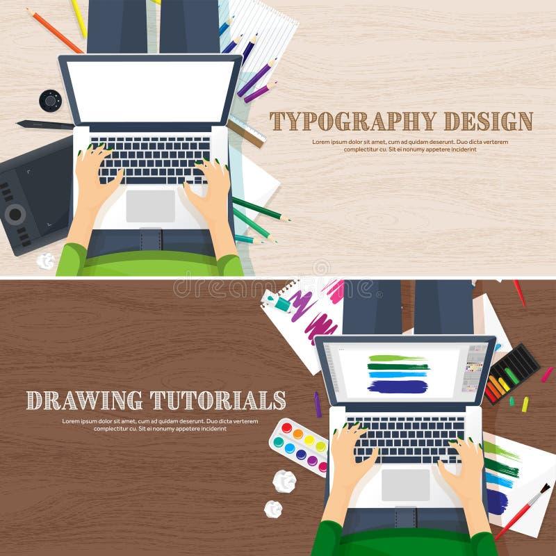 Graficzny sieć projekt TARGET64_1_ i target65_1_ rozwojowy Ilustracja, kreślić, freelance Interfejs użytkownika Ui Komputer ilustracja wektor