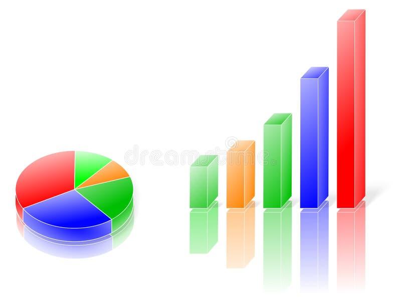 Grafiek stock foto's