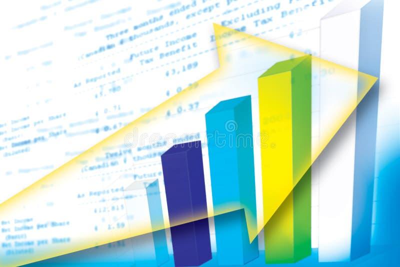 Grafiek Royalty-vrije Stock Fotografie