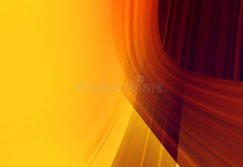 Grafiek oranje achtergrond voor ontwerp stock illustratie