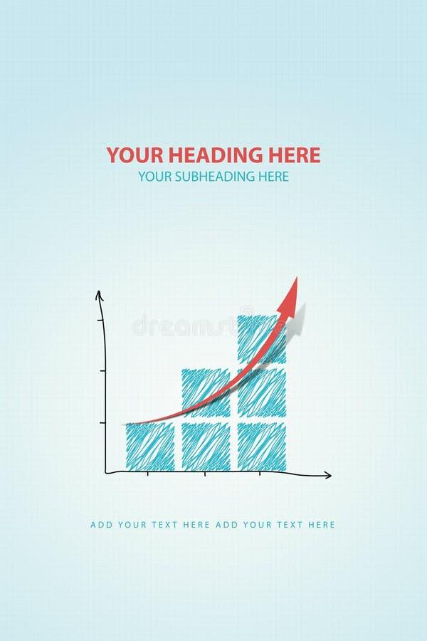 Grafiekvooruitgang vector illustratie