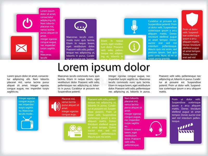 grafika ikony info ilustracja wektor