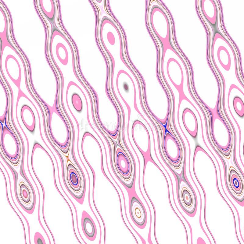 Grafika, purpur menchii linie, abstrakt kształtowali tło royalty ilustracja