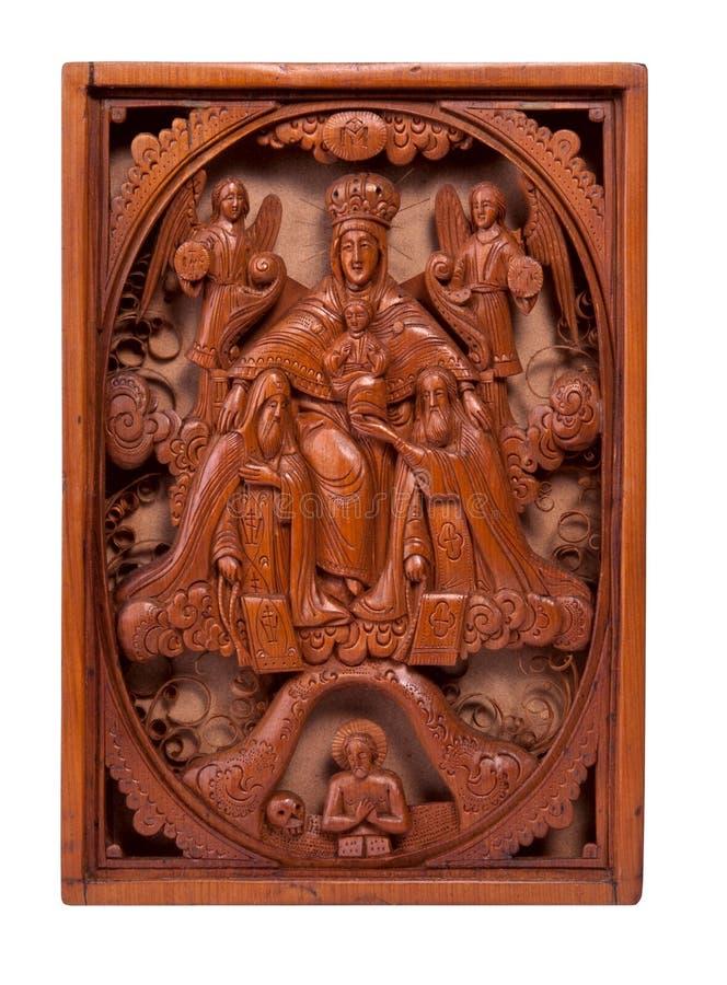 grafika rzeźbiący w zawiły sposób drewno obrazy royalty free