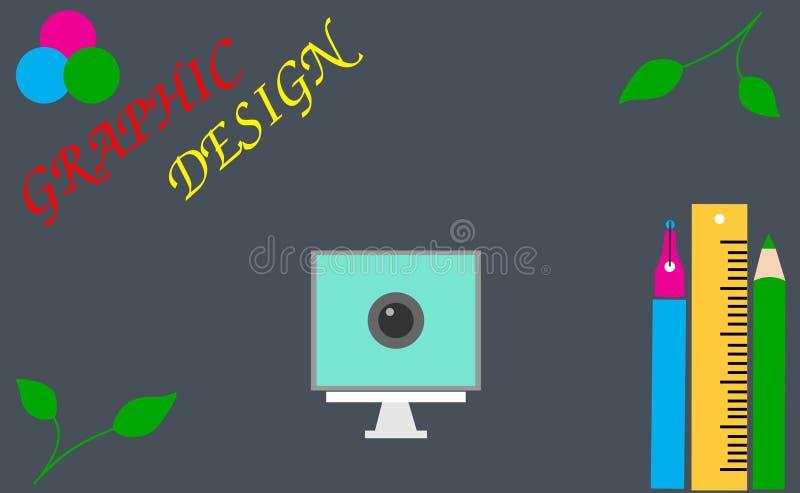 Grafikdesign bootcamp stockfoto