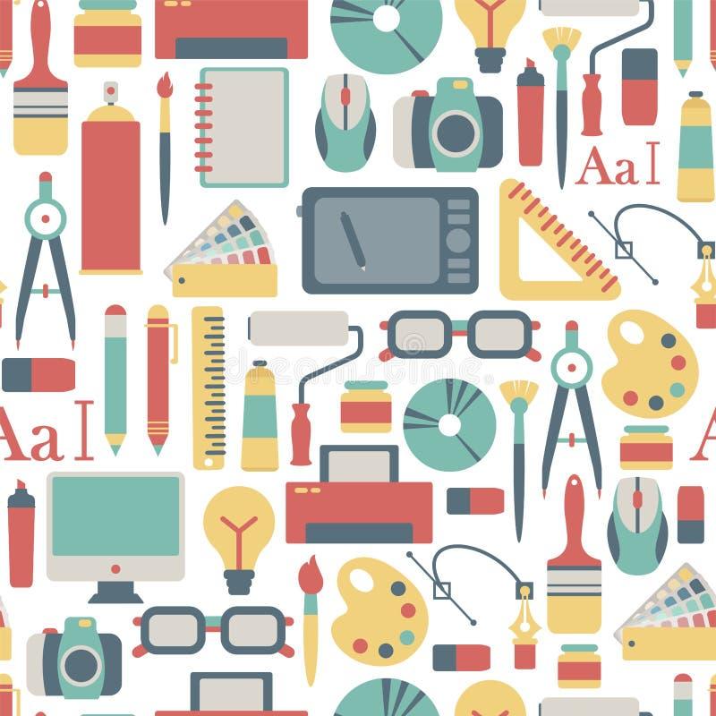 Grafikdesignmuster lizenzfreie abbildung