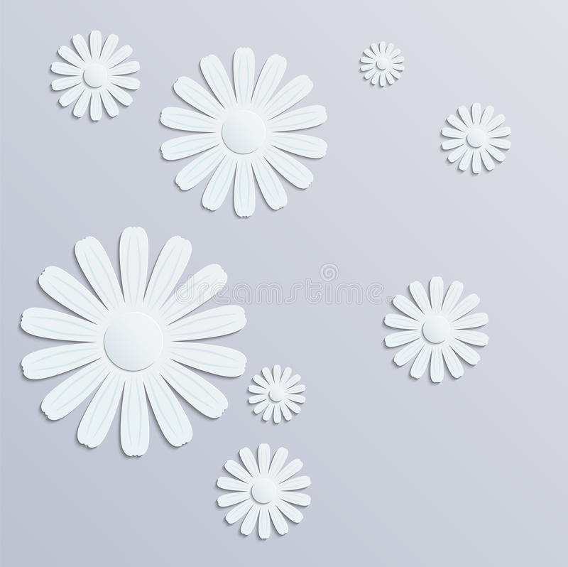 Grafiken des Papier-3D stock abbildung