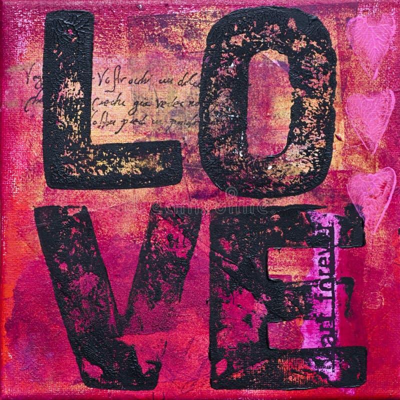 grafiki miłość ilustracja wektor