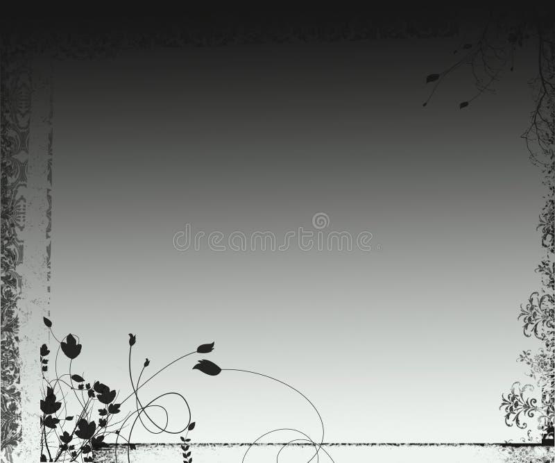 grafiki tła grunge ornamentacyjny fantazji royalty ilustracja