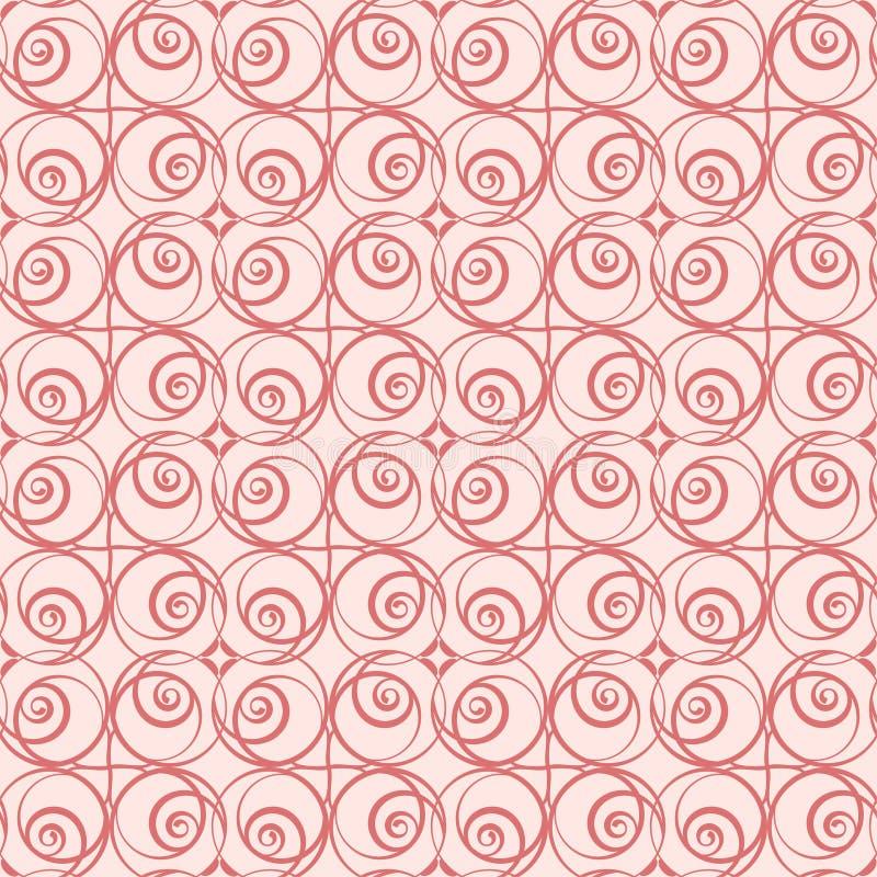 Grafisch Blumenmuster für die Feiertage stock abbildung