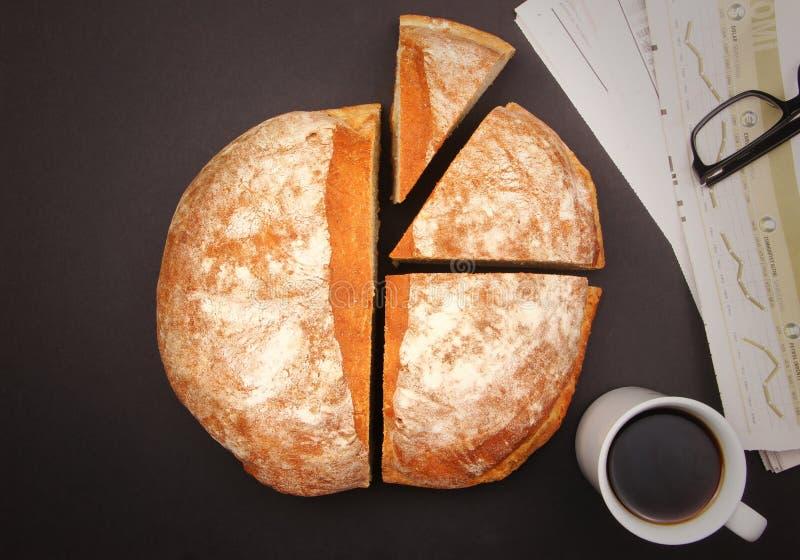 Grafisch brood stock fotografie
