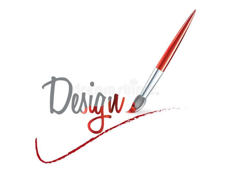 Grafisch ontwerp stock illustratie