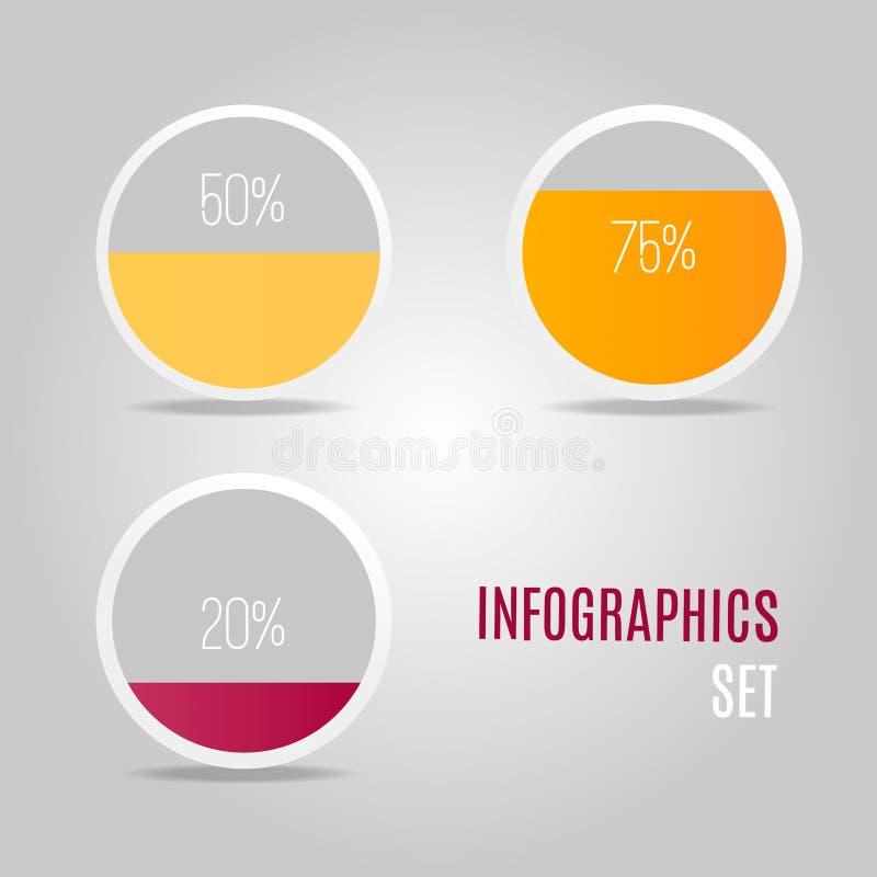 Grafische Darstellung der Ergebnisse stockbild