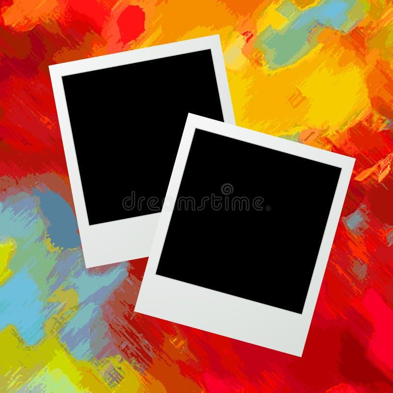 Grafische de frames van de foto royalty-vrije illustratie
