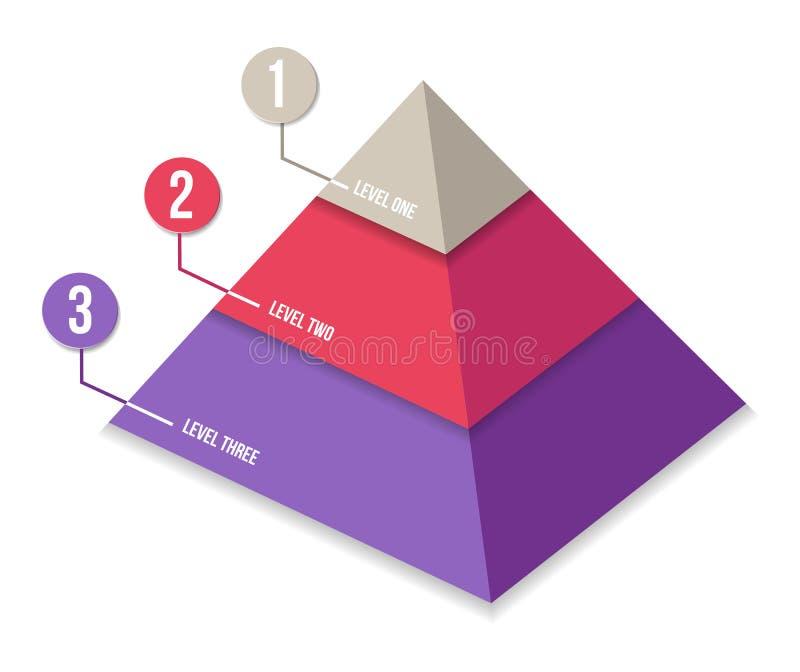 Grafische de informatie van de bedrijfpresentatie royalty-vrije illustratie