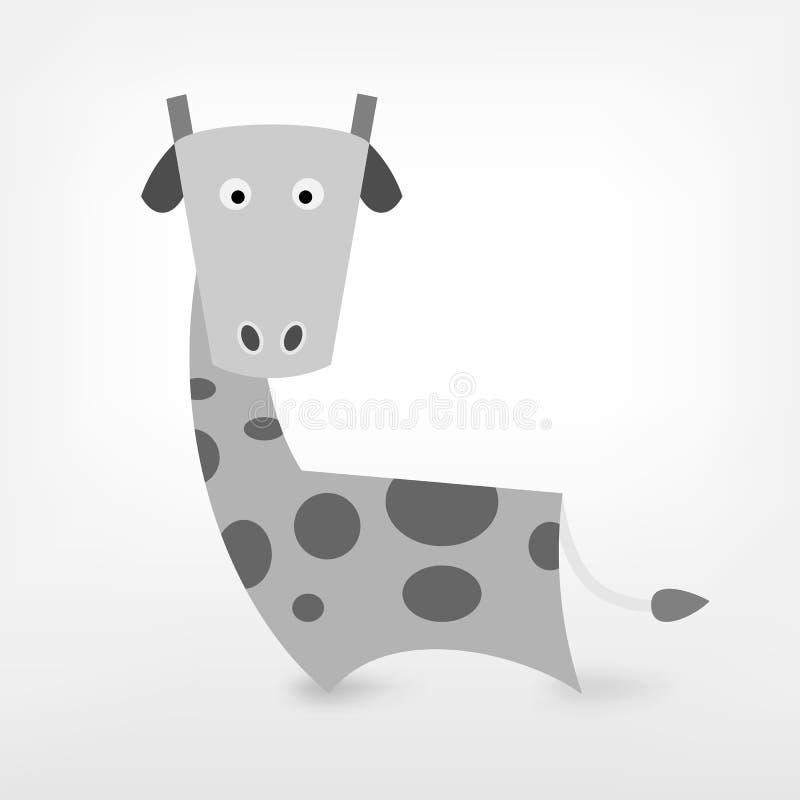 Grafische Giraffe vektor abbildung