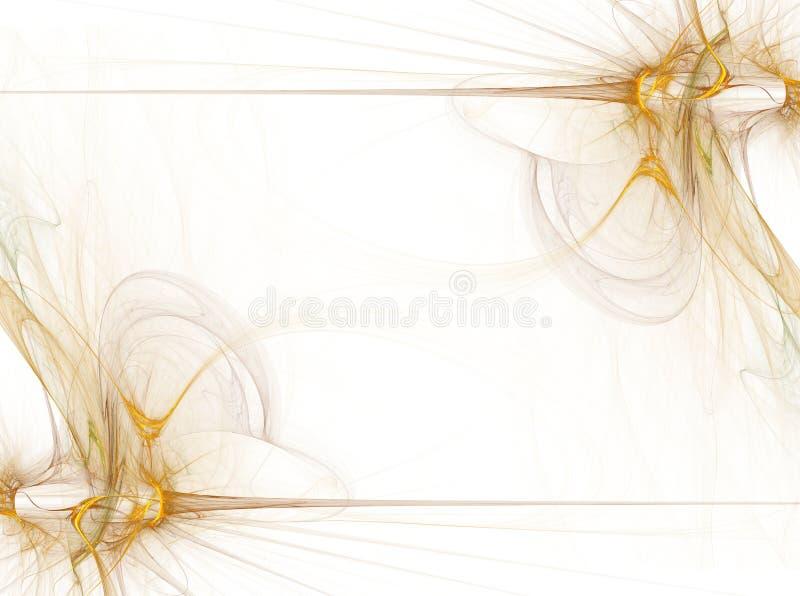 Grafische grens/Zaken - Gouden Rook vector illustratie