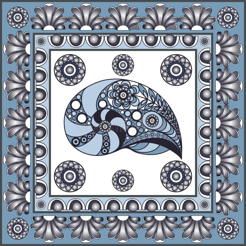 Grafische illustratie met keramische tegels 37 royalty-vrije illustratie
