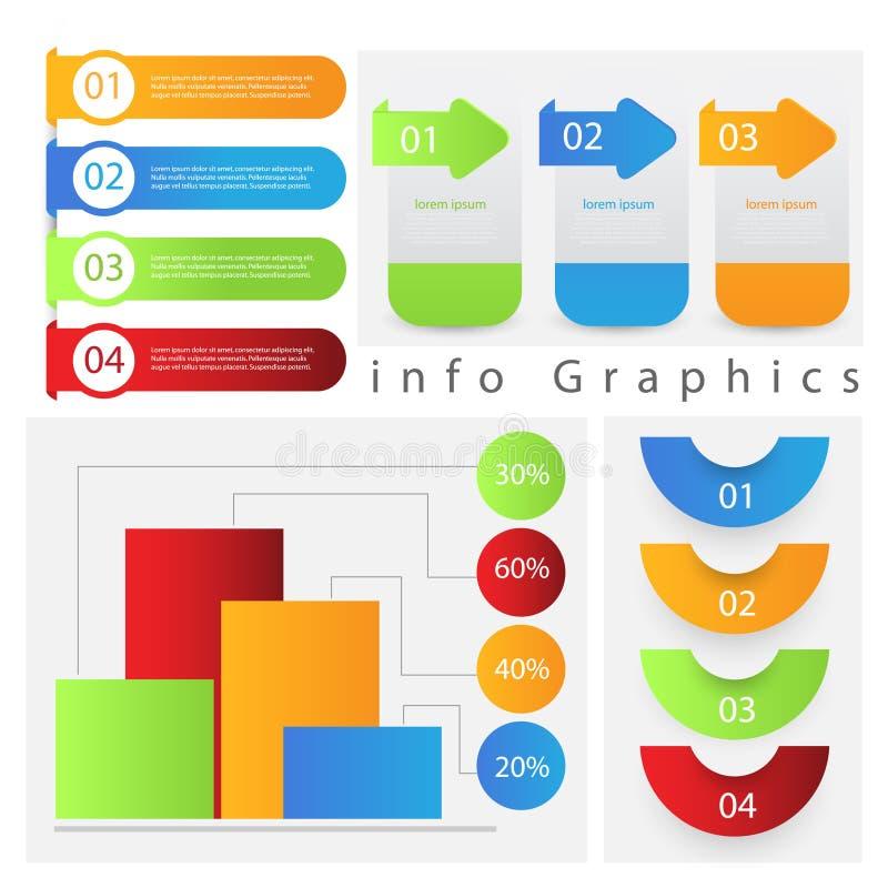 Grafische informatie vector illustratie