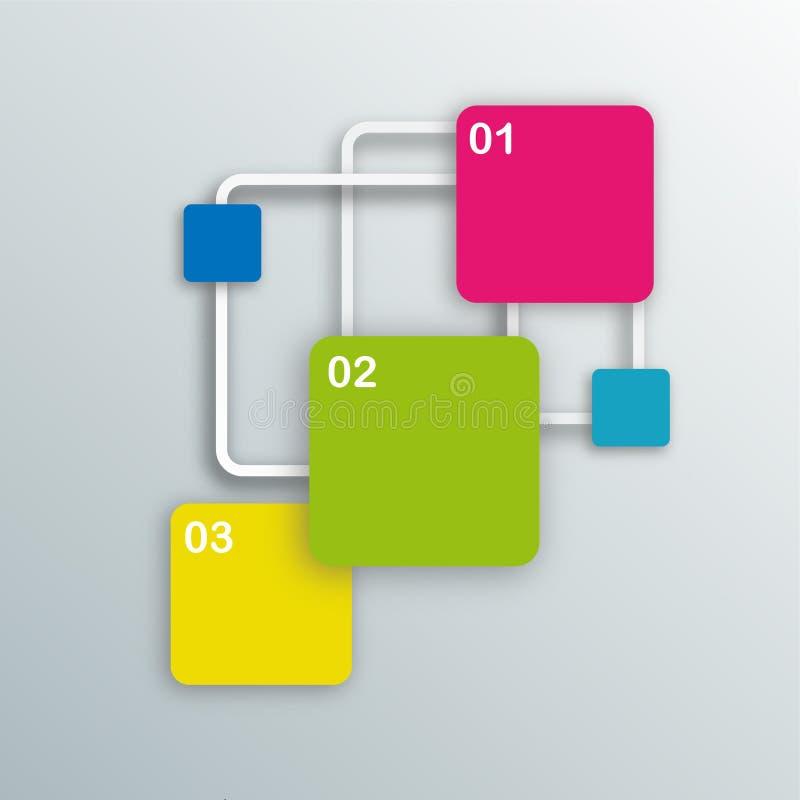 Grafische informatie stock afbeelding