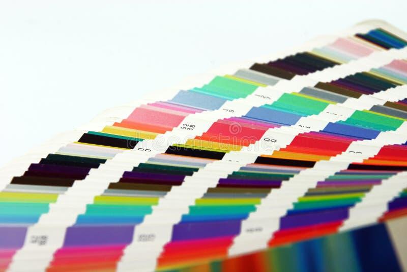 Grafische kunstkleuren royalty-vrije stock foto