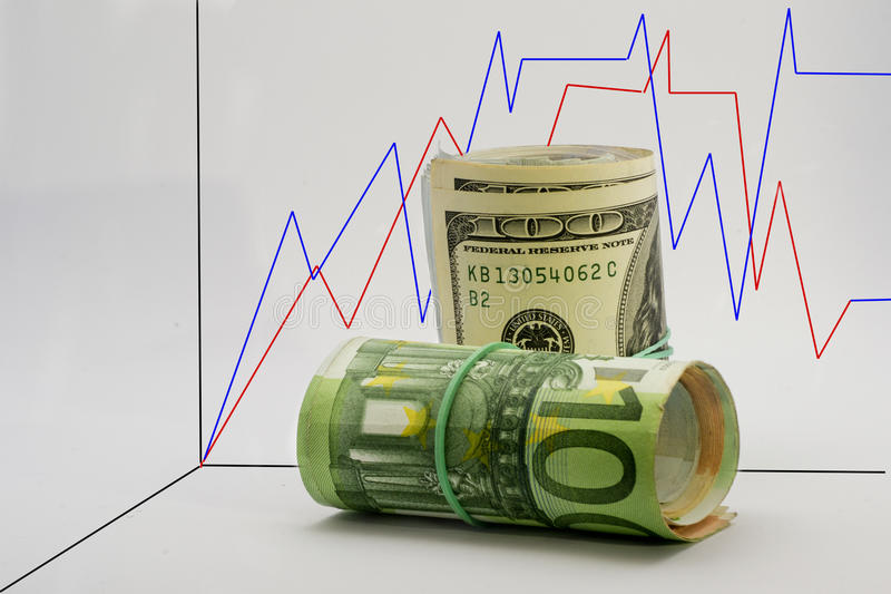 Grafische munt royalty-vrije stock afbeeldingen
