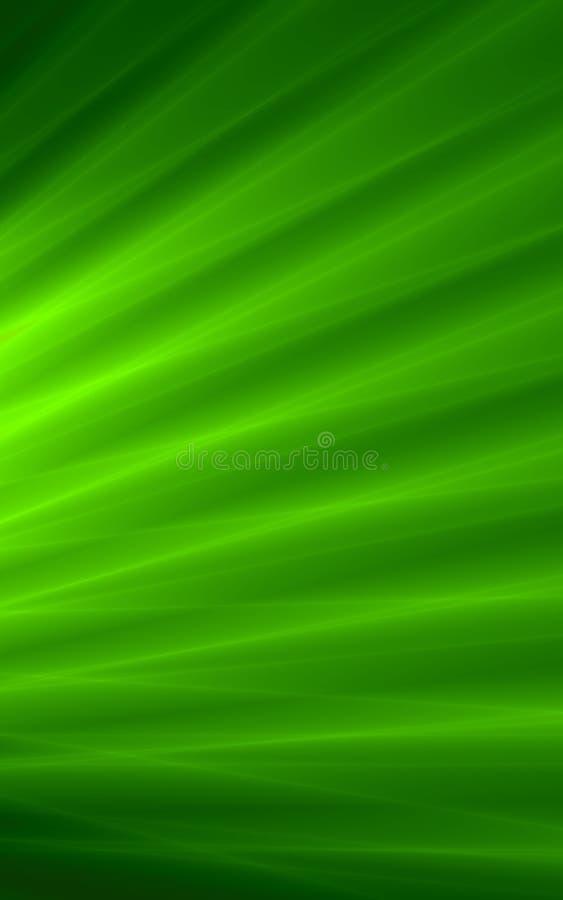Grafische Tapete des Blattgrün-Hintergrundes lizenzfreie abbildung